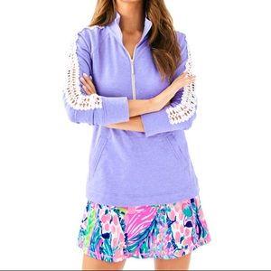 Lilly Pulitzer | Skipper Solid Popover in Purple